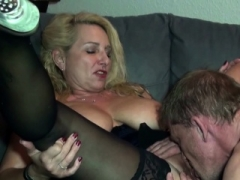 German Non-professional Sexually available mom Fuck with Big Dick Stranger