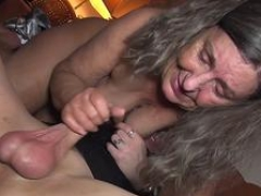 German TV Granny Bondage