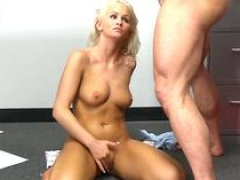 aroused 18-19 year old gets facial solo shenanigans segment 1