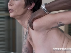 Mature Milf Catalya Mya Stars in First Interracial