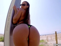Amirah Adara In Rough Outdoor Butt Copulating
