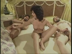 Retro german group sex video - rare movie!